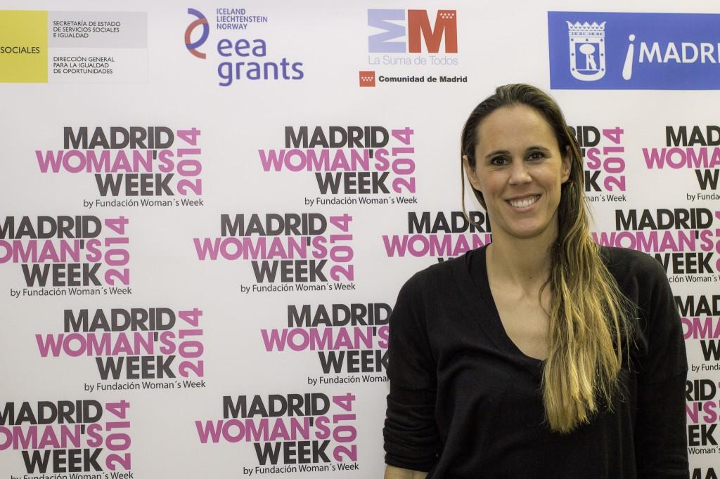 Amaya Valdemoro participó durante MADRID WOMAN'S WEEK 2014 en uno de los paneles de expertos de la jornada de Liderazgo.