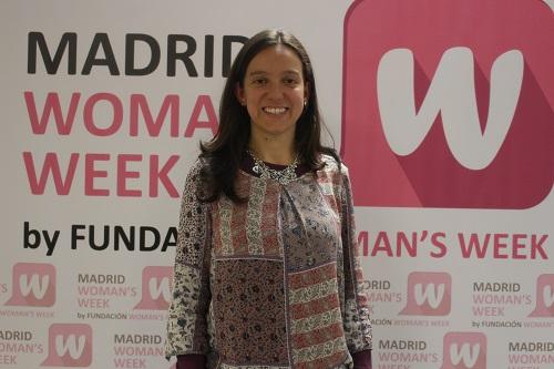 Usúe Medinaveitia participó en la Semana Internacional de la Mujer 2015
