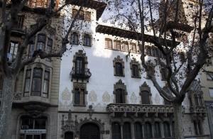 Fachada del Palau Macaya