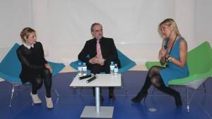 Carmen M. García, Salvador Molina y Marta Robles.