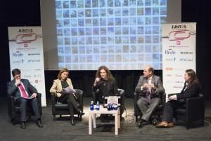 Fco. Javier Cirac Ginesta, Raquel Serradilla, Arancha de las Heras, Alejandro Lucero y Rosa Larrín