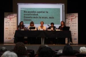 Mar Ramos, Macarena Ruíz, Mónica de la Fuente, Patricia Tablado y Patricia Roman.