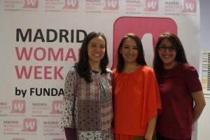 Usúe Medinaveitia, Catalina Echeverry y Laila El Qadi.