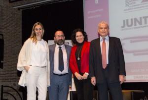 Carmen Castillo, Juanjo Santacana, Rosa María Arias y Albert Solé