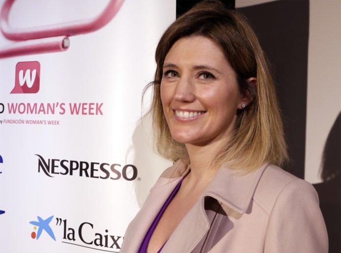 Silvia Álava durante su intervención en la Semana de la Mujer 2015