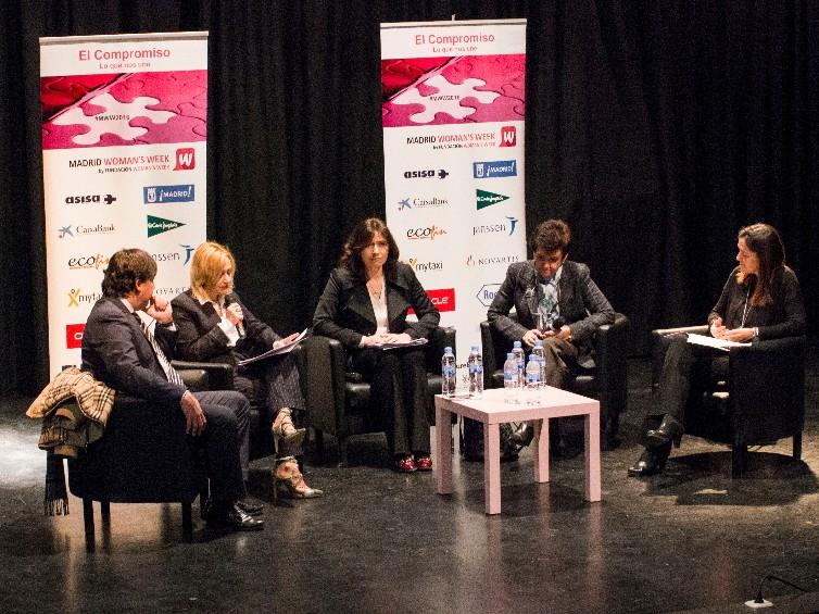 Cumbre de liderazgo femenino durante la sexta edición de la Semana Internacional de la Mujer
