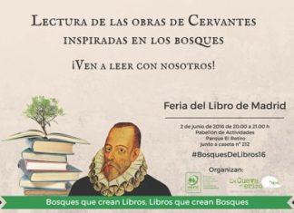 Homenaje a Cervantes en la Feria del Libro de Madrid