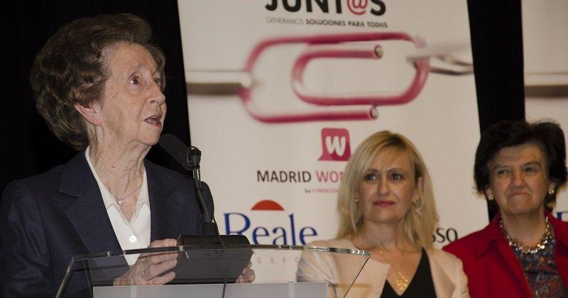 La científica Margarita Salas
