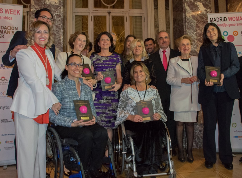Seis mujeres líderes, Premio Internacional Madrid Woman´s Week