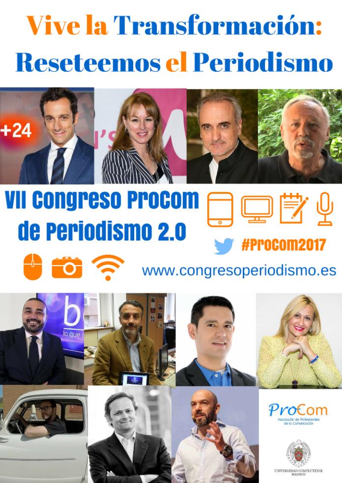 El periodismo busca renacer en el VII Congreso Procom en la Complutense
