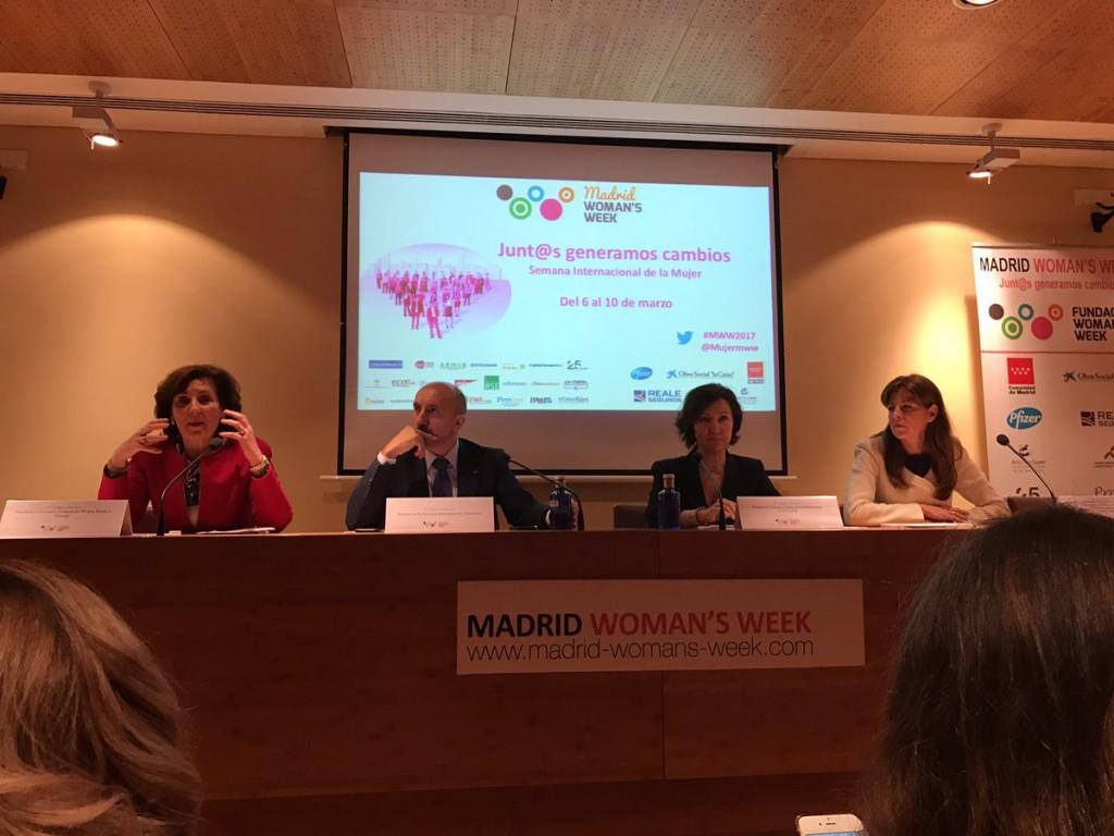 El impulso del liderazgo femenino en Madrid Woman´s Week 2017