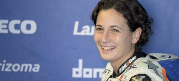Ana Carrasco, primera mujer en ganar una carrera del Mundial de motos