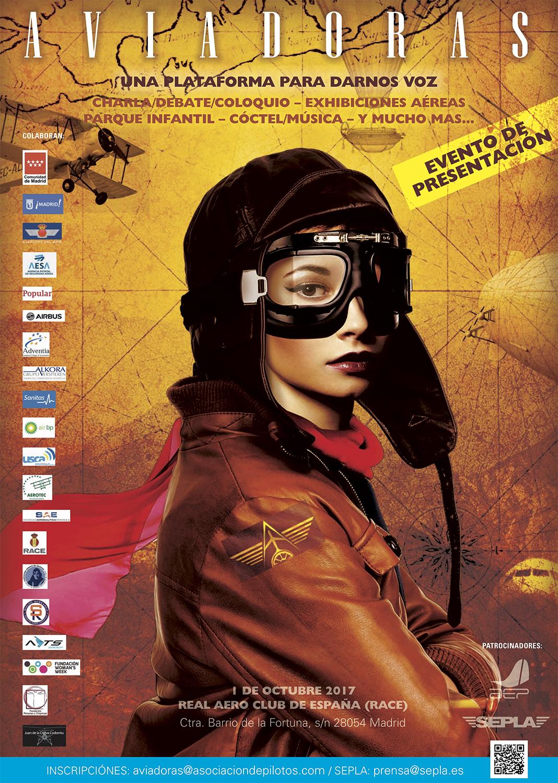 El Proyecto Aviadoras está dando sus primeros pasos. El próximo domingo 1 de octubre en el Aeródromo de Cuatro Vientos conoceremos lo que aún nos queda por hacer para aumentar la presencia de la mujer en el mundo de la aviación.