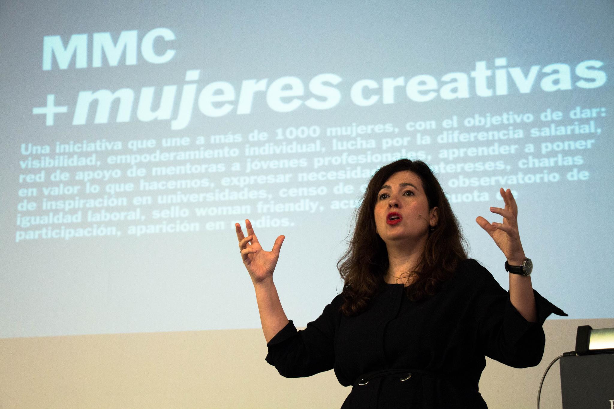 Mónica Moro, directora creativa de McCann.