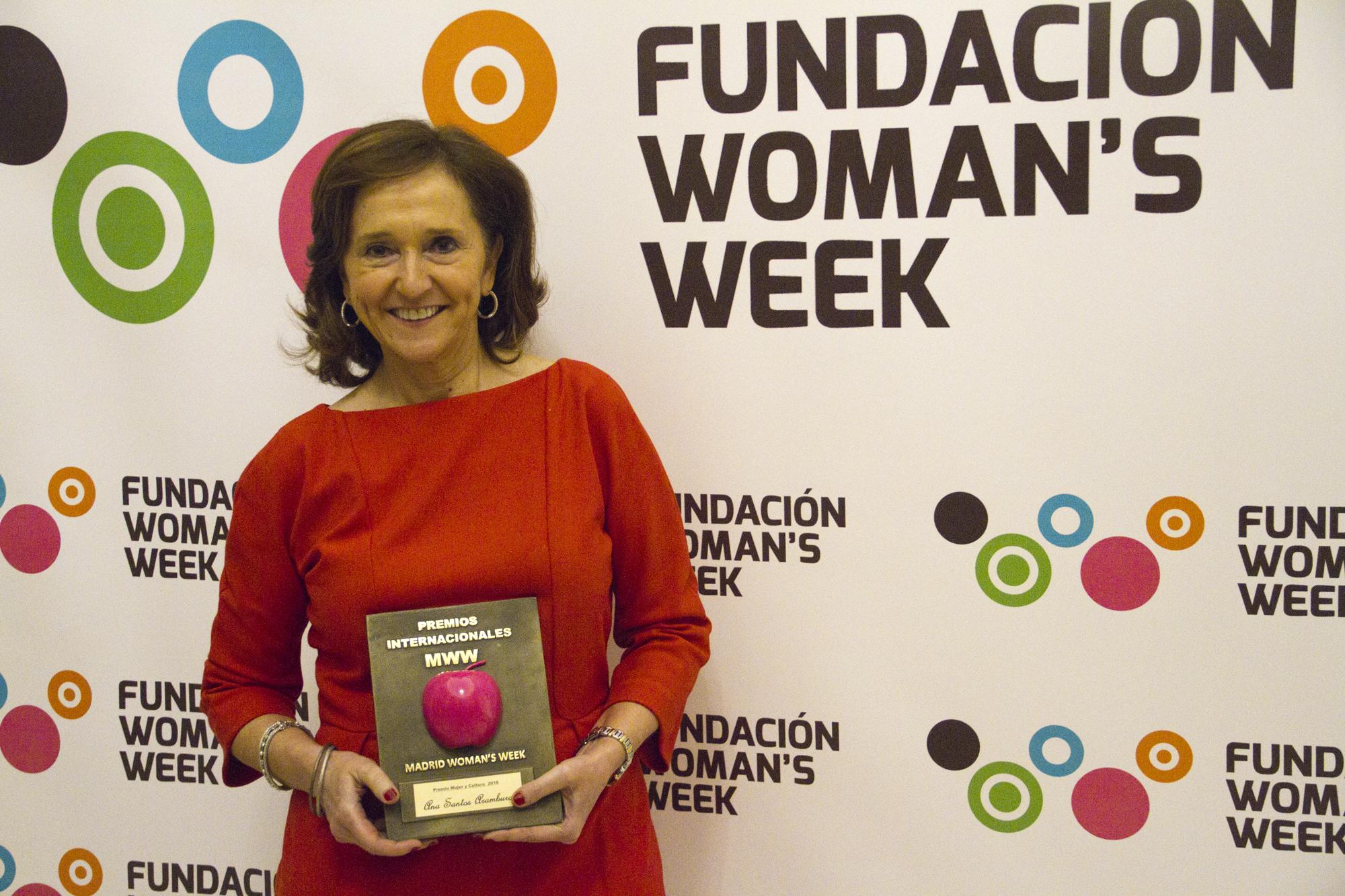 Ana Santos Aramburo, directora de la Biblioteca Nacional de España
